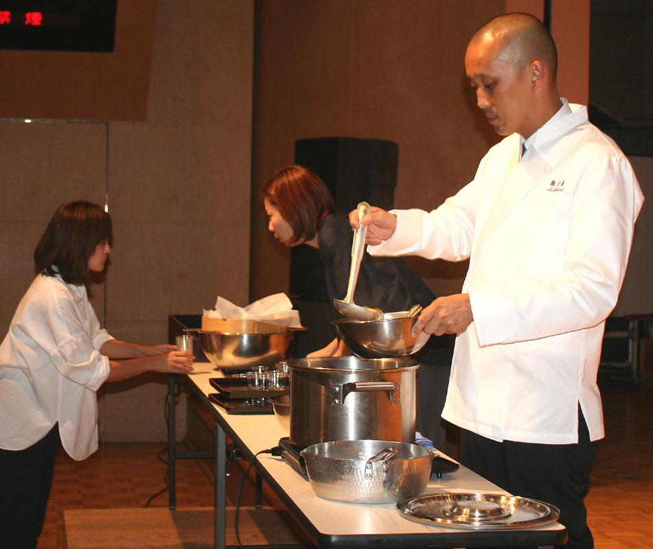 日本料理は大切な文化/城陽市民大学「特設講座」