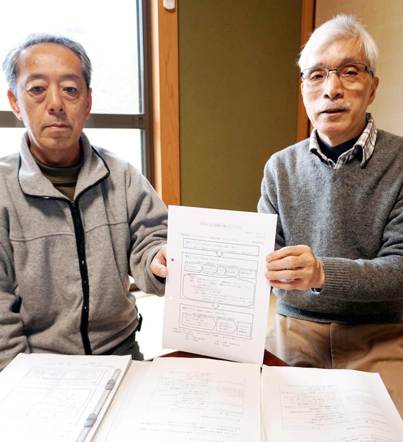 町内初 タイムライン完成/久御山・双栗自治会
