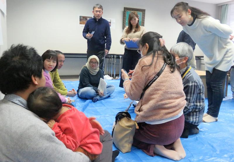 「やさしい日本語」がベース/災害時の外国人対応