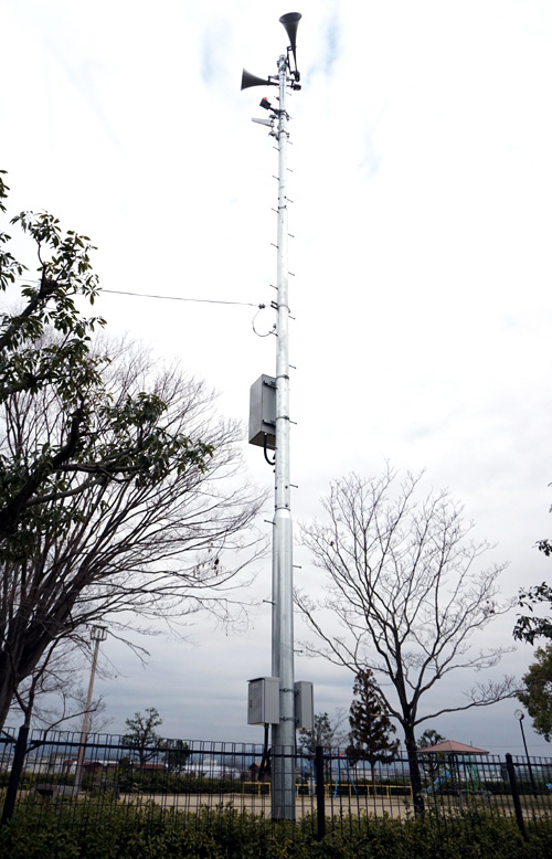訓練や啓発など広く活用/久御山・防災無線運用から1年