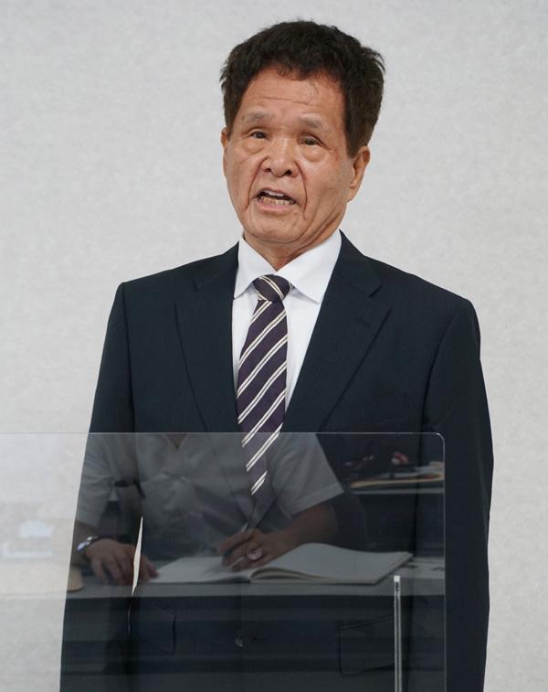 元町議・吉田氏が出馬表明/久御山町長選