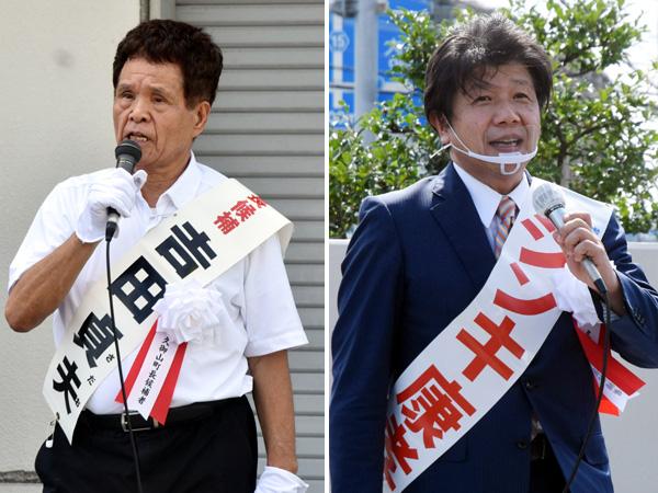 現新一騎打ち 8年前の再戦/久御山町長選