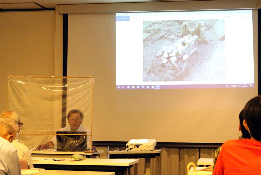 調査で知る古代の姿/城陽で文化財講座
