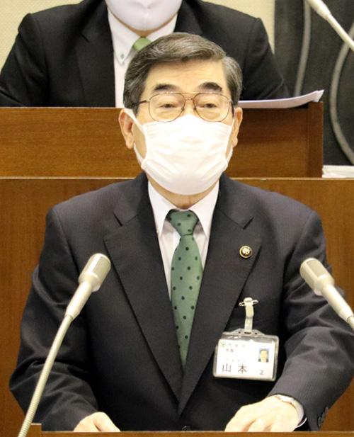 山本宇治市長、退任表明/12月の任期満了で