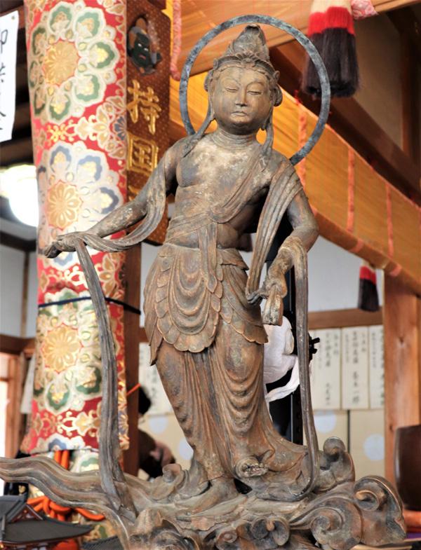 雲中供養菩薩像の模刻完成/平等院