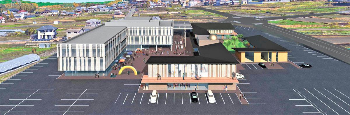 新庁舎など平面図を議会に提示/井手町