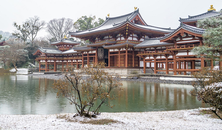 雪化粧 幻想の鳳凰堂/宇治・平等院