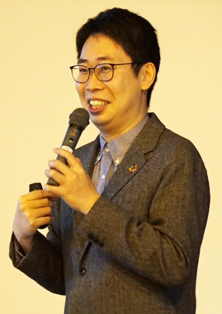 「あきらめない」胸に/宇治田原町維孝館中で卒業記念講演