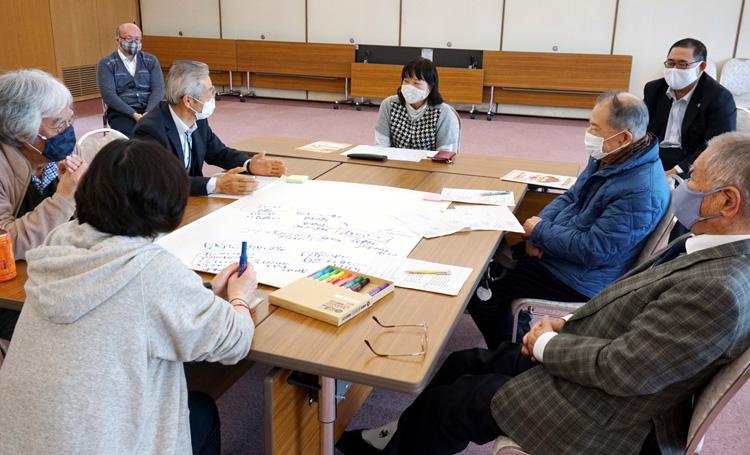 「できること」意見交換/久御山まちづくり地域会議