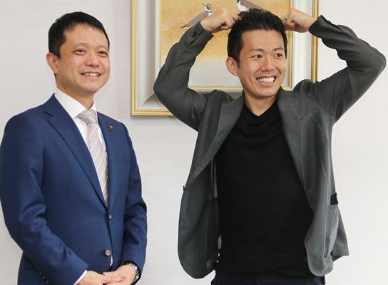 松竹新喜劇『一休さん』アピール/藤山扇治郎さん
